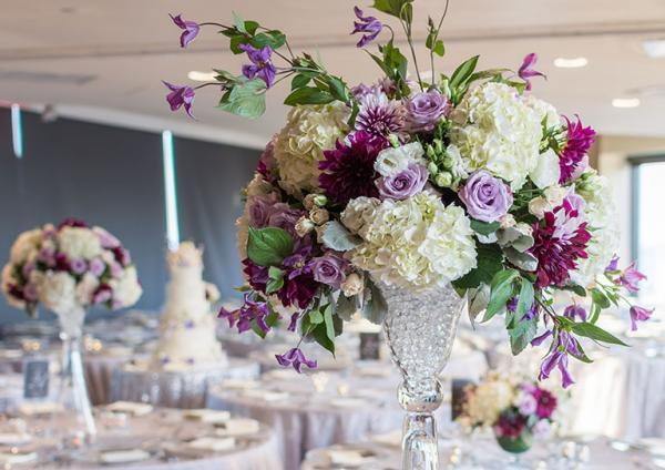bukiet kwiatów weselnych